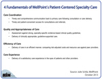 4 Fundamentals of WellPoint's Patient-Centered Specialty Care