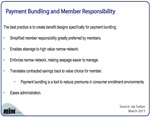 New Table: 5 Reasons Bundled Payments Are Member-Friendly