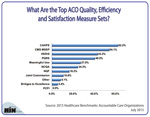 What Are the Top ACO Quality, Efficiency and Satisfaction Measure Sets?