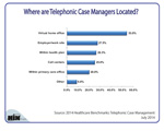 Where Are Telephonic Case Managers Located?