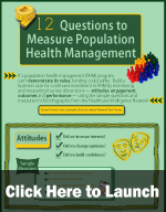 HINfographic: 12 Questions to Measure Population Health Management