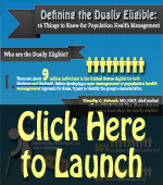 Infographic: Defining the Dually Eligible — 16 Things to Know for Population Health Management