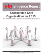 Accountable Care Organizations in 2015: One-Fifth Primed for 'Next Generation ACO' Participation