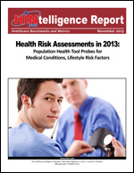Health Risk Assessments in 2013
