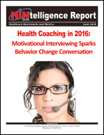 Health Coaching in 2016: Motivational Interviewing Sparks Behavior Change Conversation