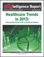 Healthcare Trends in 2013: Industry Shows More Faith in Healthcare Reform