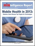 Mobile Health in 2013: Diabetes, Heart Disease Top Targets for Technologies