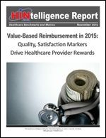 Value-Based Reimbursement in 2015: Quality, Satisfaction Markers Drive Healthcare Provider Rewards