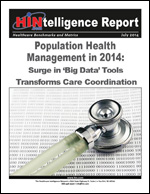 Population Health Management in 2014: Surge in 'Big Data' Tools Transforms Care Coordination