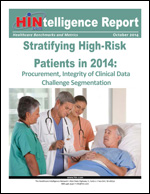 Stratifying High-Risk Patients in 2014: Procurement, Integrity of Clinical Data Challenge Segmentation