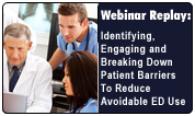 Identifying, Engaging and Breaking Down Patient Barriers To Reduce Avoidable ED Use