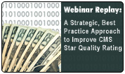 A Strategic, Best Practice Approach to Improve CMS Star Quality Ratings