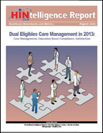 Dual Eligibles Care Management in 2013
