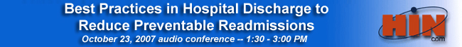 Best Practices in Hospital Discharge to Reduce Preventable Readmissions