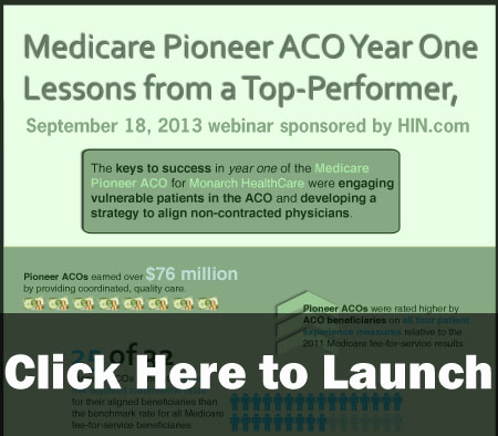 Medicare Pioneer ACO Year One, Lessons from a Top Performer